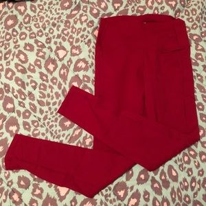 Buffbunny Luna leggings - red